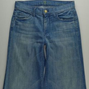 7 For All Mankind Jeans - 7 For All Mankind Crop Ginger Jeans Women 27 A180J